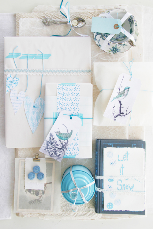 5 Cool Gift Wrapping Ideas (via decor8blog)