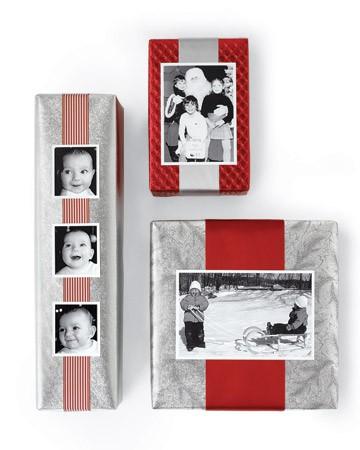7 Holiday Gift Wrap Ideas With Photos (via olderandwisor)