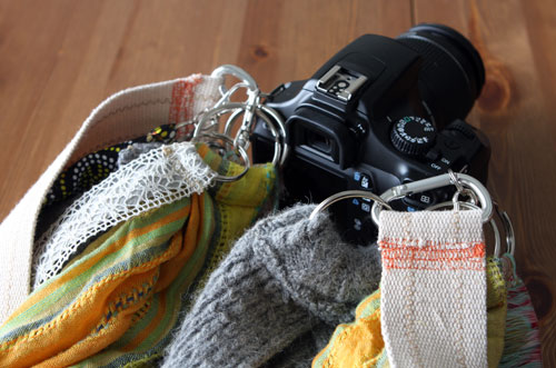 DIY Chic Custom Camera Straps (via brit)