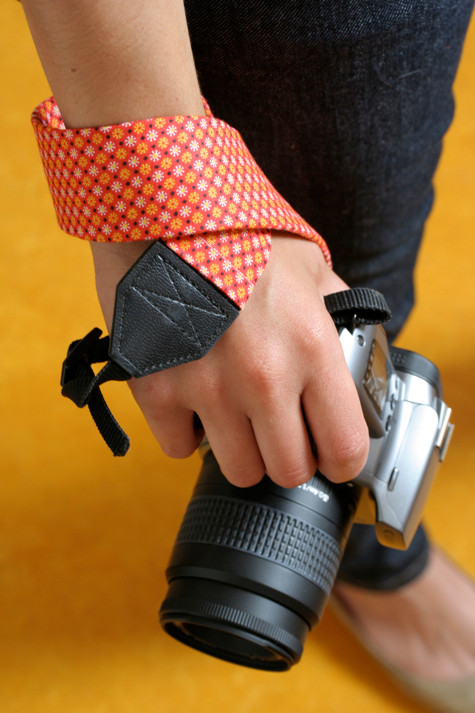 Homemade Camera Strap Cover (via designsponge)