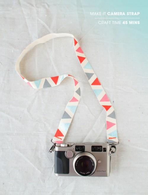 Pretty DIY Camera Strap