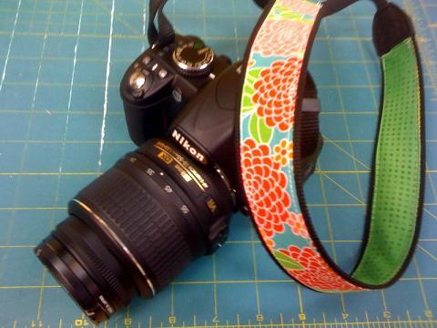 Handmade Crafty Camera Strap