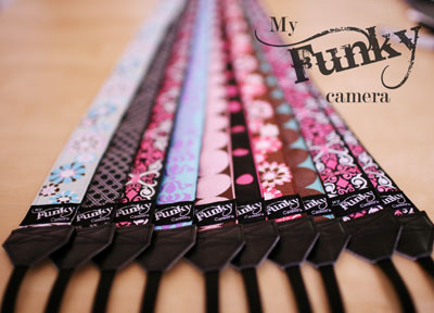 Funky Camera Strap DIY (via innermostaspirations)