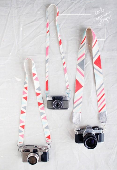 Modern DIY Camera Straps