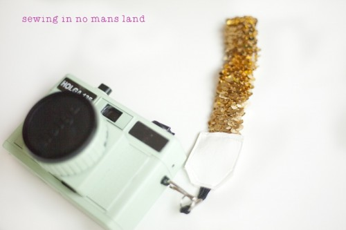 DIY Shiny Strap For A Point-and-Shoot Camera (via sewinginnomansland)