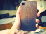 DIY Eyeshadow Dust iPhone Case