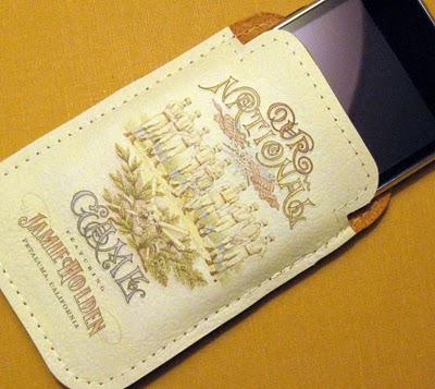 DIY Leather iPhone Case