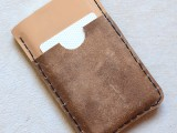 DIY iPhone Leather Wallet Case