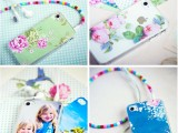 DIY Personalized iPhone Cover (via craftandcreativity)