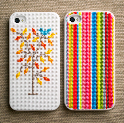 Cool DIY Cross Stitch iPhone Cases
