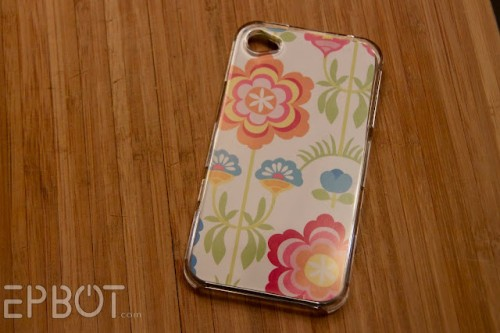 DIY Custom iPhone Cover (via epbot)