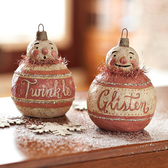 Gallery For gt Vintage Snowman Decorations