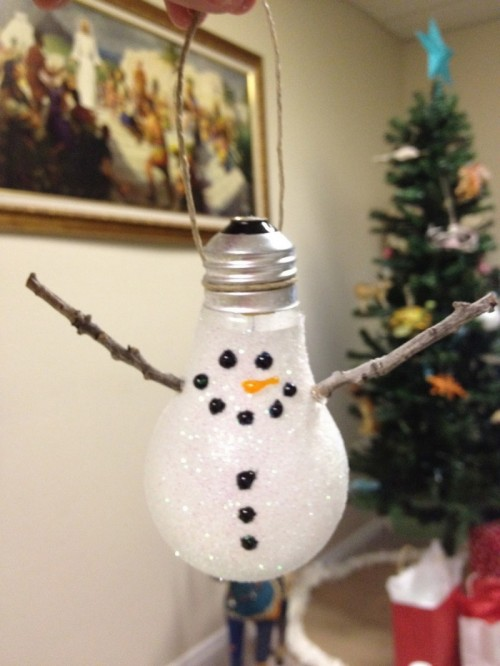 15 Cool Diy Snowman Christmas Tree Ornaments Shelterness