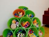 Buckets And Zip Tiles