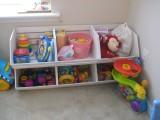 DIY Pottery Barn Inspired Toy Storage