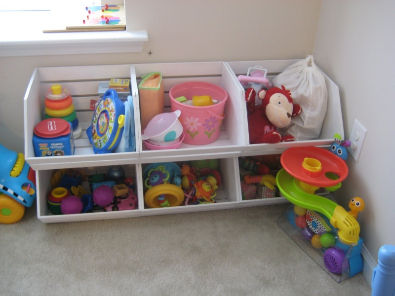 15 Cool DIY Toy Storage Ideas » DIY Pottery Barn Inspired Toy Storage ...