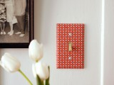 How To Decorate A Light Switch Cover