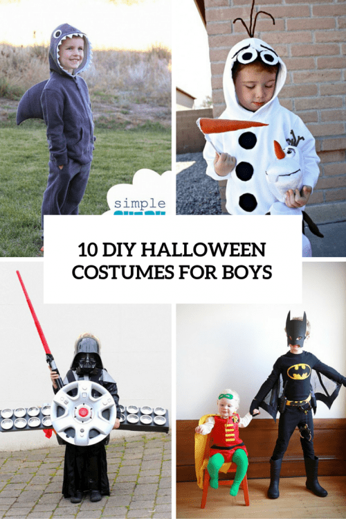10 Cool And Fun DIY Halloween Costumes For Boys