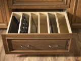 DIY Pan Organizer For A Large Drawer