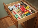 DIY Angled Shelving To Organize Spices In A Drawer