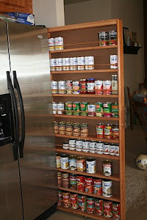 DIY Pull-Out Drawer By The Fridge (via learning-to-b-me)