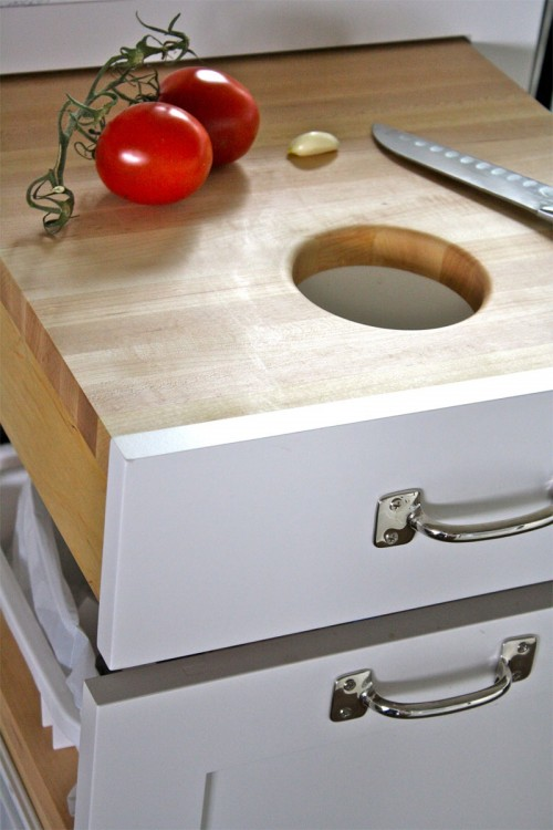 DIY Chopping Block (via shelterness)