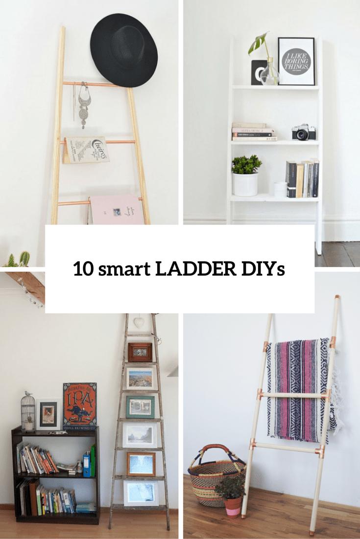 10 smart ladder diys cover