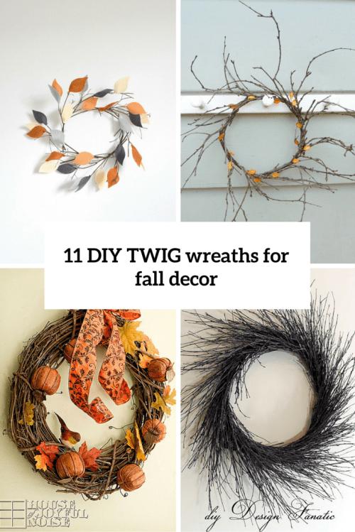 11 twig diy fall wreaths cover