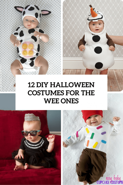 12 Cute DIY Halloween Costumes For The Wee Ones