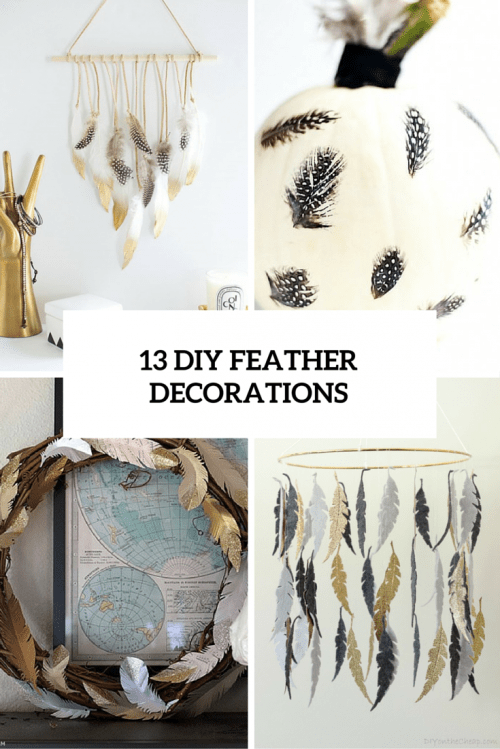 Nice  Soft And Inspiring Feather Home Decor Ideas