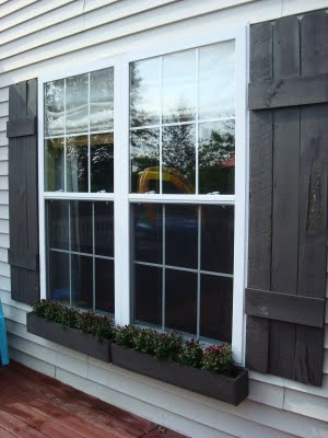 Simple DIY Window Boxes