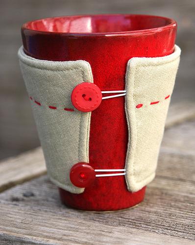 Custom Sized Mug Cosy Tutorial