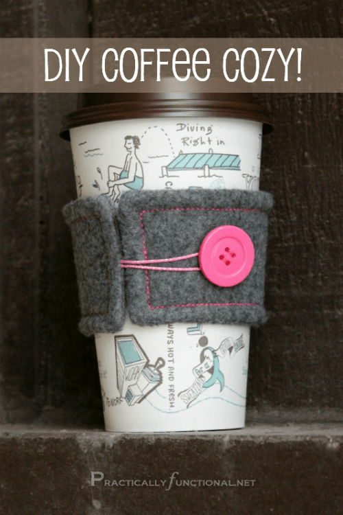 How To Make Your Own Coffee Cosy (via practicallyfunctional)