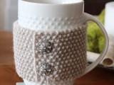 DIY Cup Cozy Sleeve (via settingforfour)