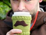 Mustache Cup Cozy Tutorial
