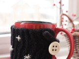 DIY Flexible Mug Cozy