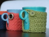 Mug Coaster Cozy Pattern (via craftsy)