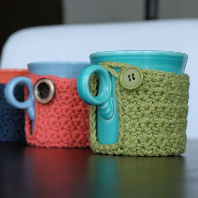 Mug Coaster Cozy Pattern