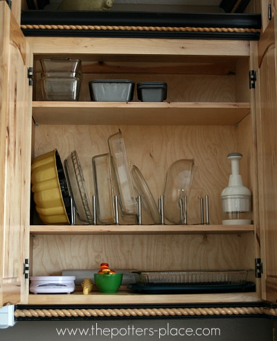 Lid organizer from Ikea
