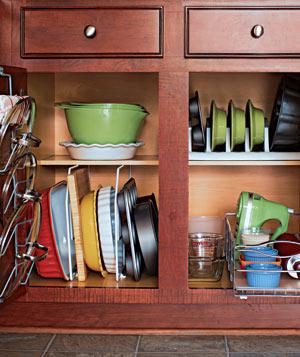 Ideas To Organize Baking Dishes Storage On Your Kitchen Shelterness