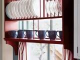 Plate storage rack over the window