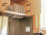 Drying rack above the washbasin