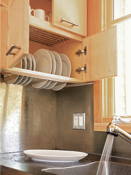 Drying Rack Above The Washbasin Via Shelterness