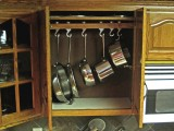 Hooks In Cabinets