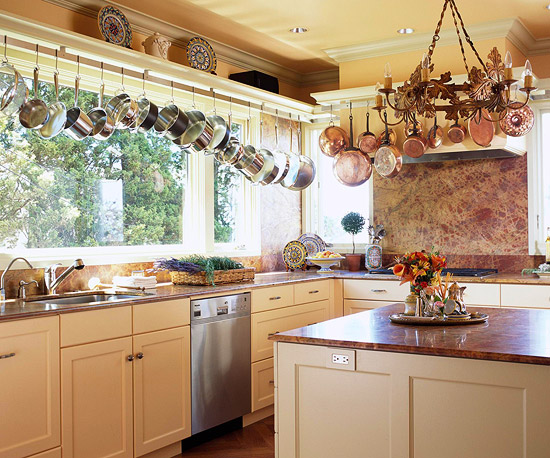 Hanging Pots And Pans Storage