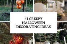 41 creepy halloween decorating ideas cover