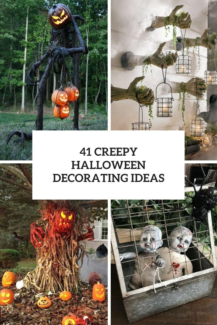 creepy halloween decorating ideas cover
