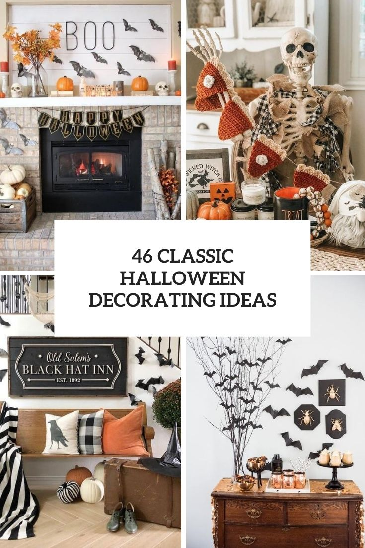 46 Classic Halloween Decorating Ideas