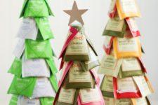 10 cute cone shaped christmas trees