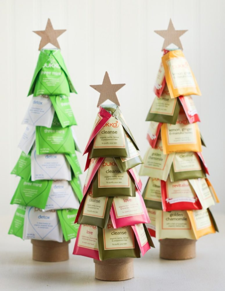 tea trees is kinda fun cheap and easy to make - Easy Christmas Tree